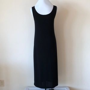 DKNY Long Black Dress